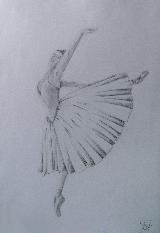 картинки поэтапно карандашом балерин данном разделе