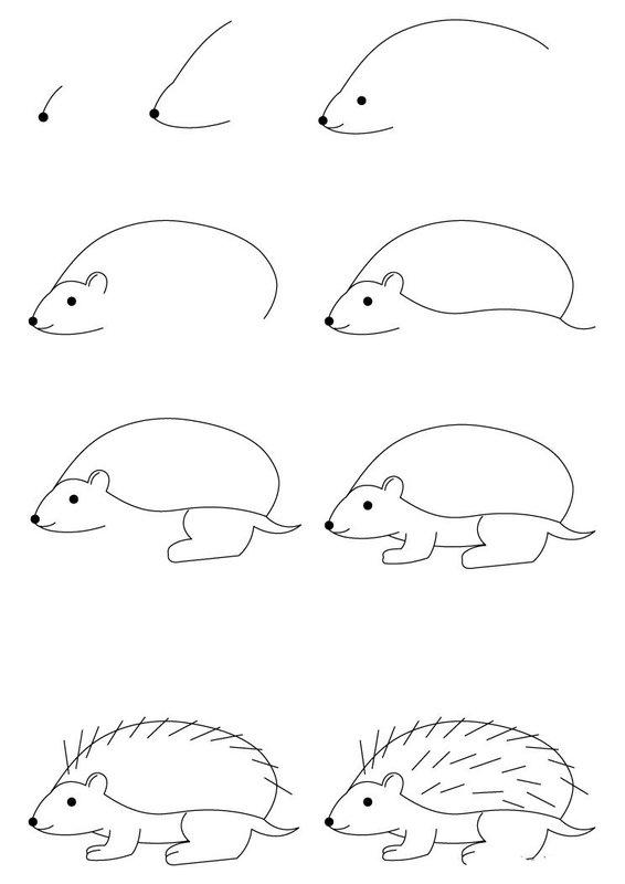 Красивые легкие поэтапные рисунки карандашом для срисовки