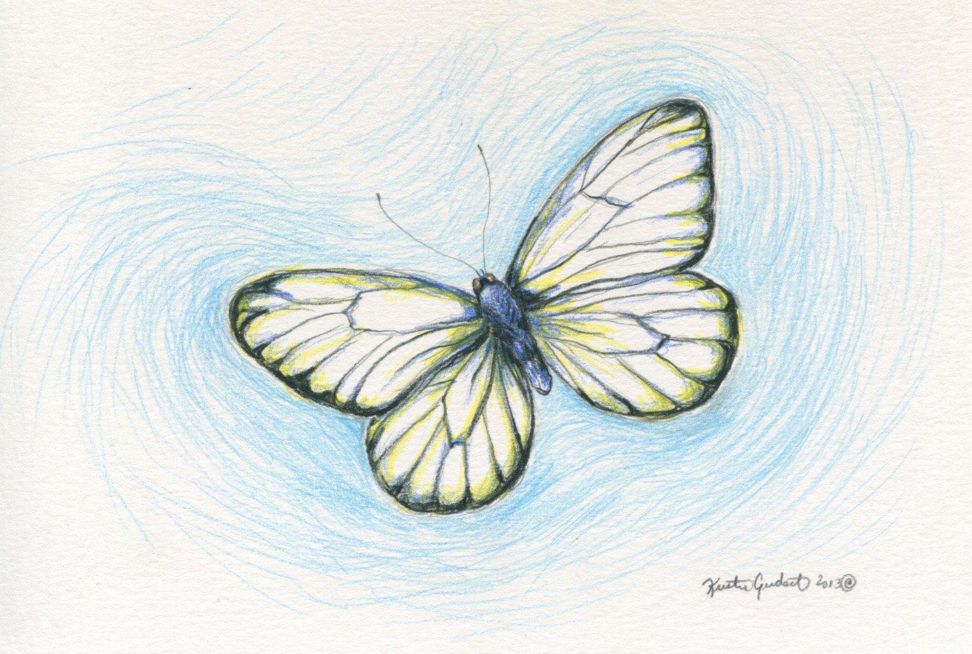 красивые рисунки карандашом цветным простые гостей