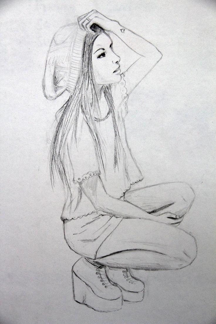 Картинки которые можно срисовать карандашом людей