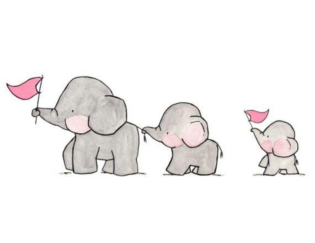 صور كرتون فيل