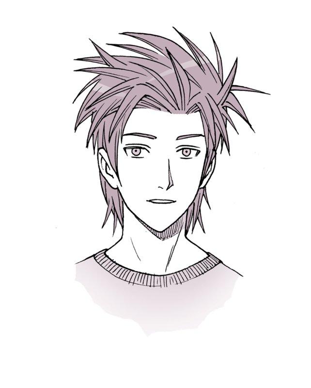 Рисунки для срисовки карандашом аниме