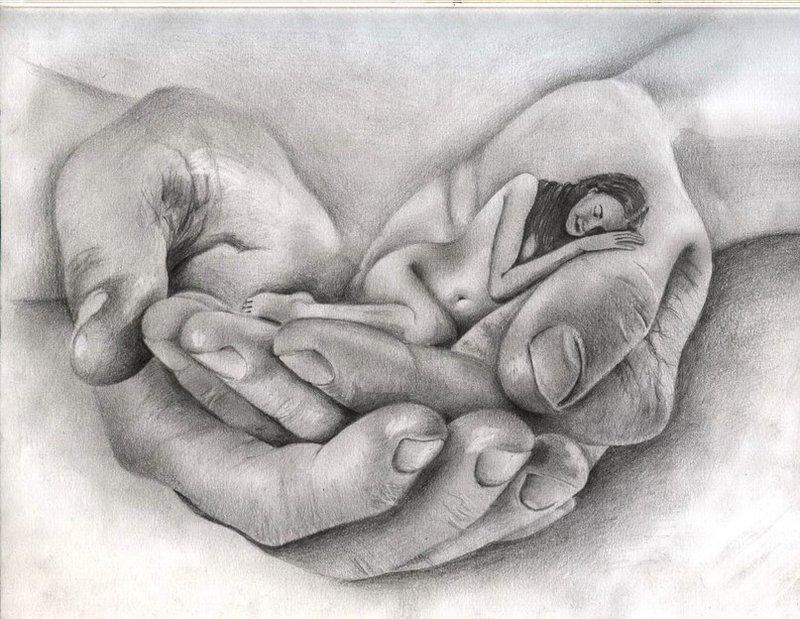 Рисунки про любовь со смыслом
