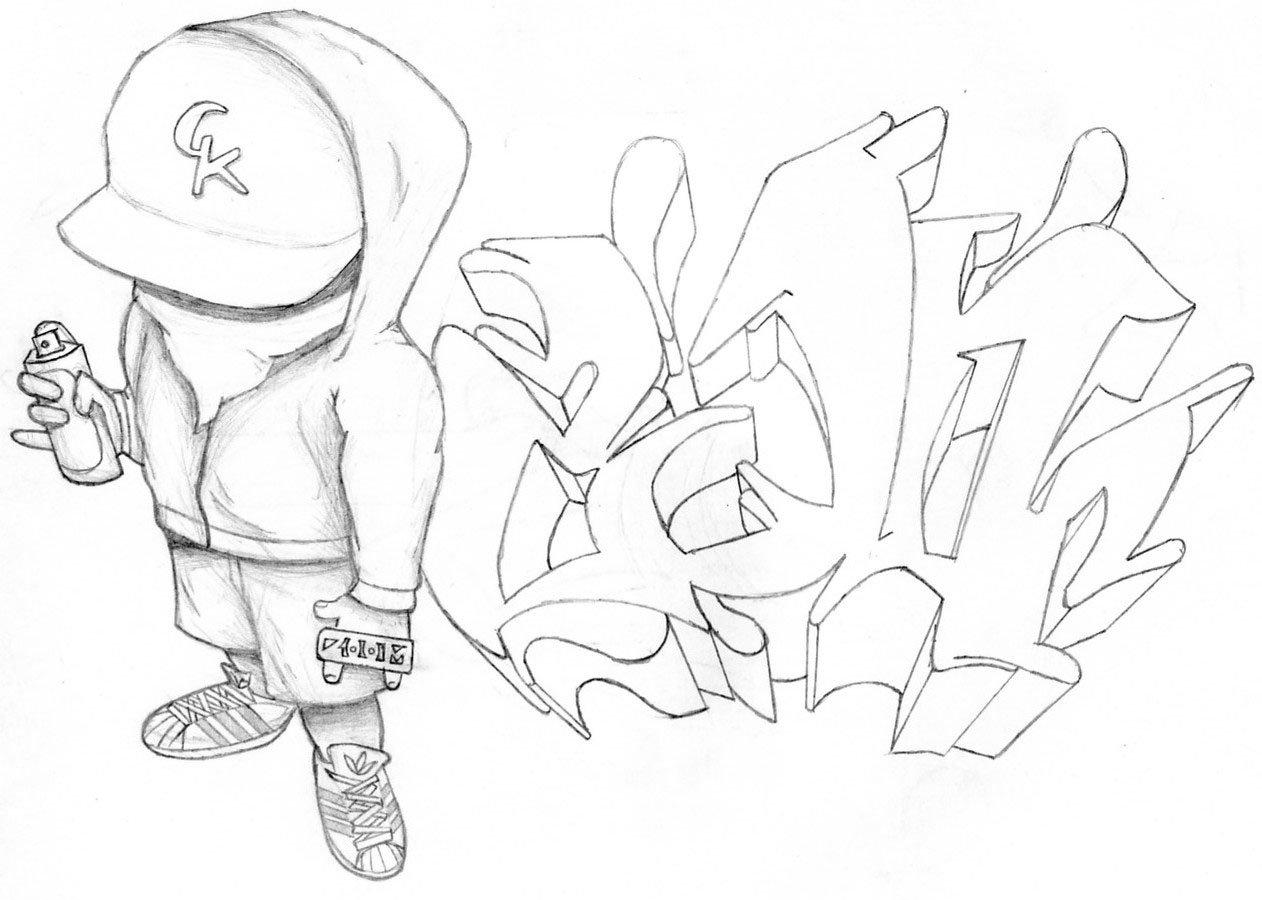 Граффити бумаге картинки