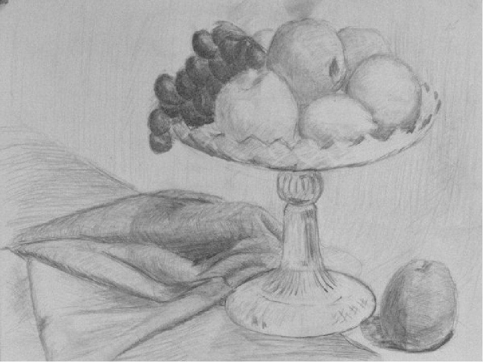 Рисунки карандашом на изобразительное искусство