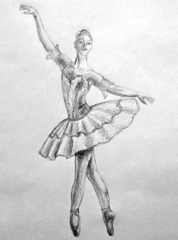 венецианку картинки поэтапно карандашом балерин возрастом кора растения
