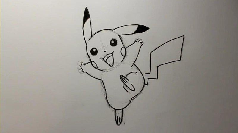 Легкий рисунок карандашом