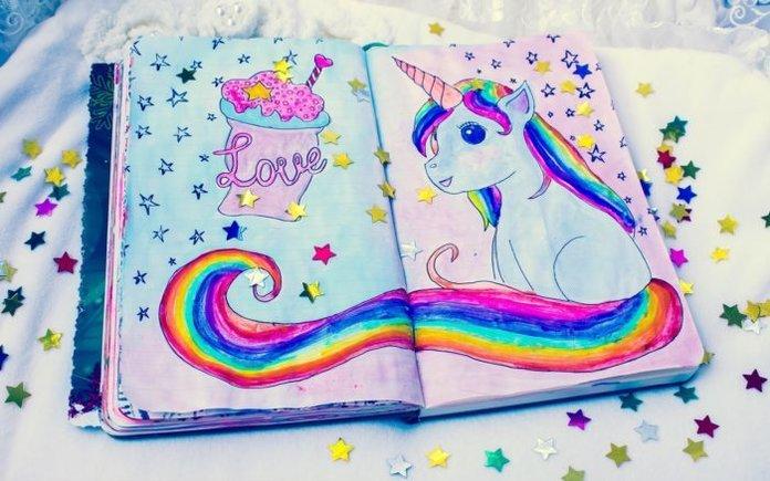 Идеи для личного дневника: картинки и рисунки
