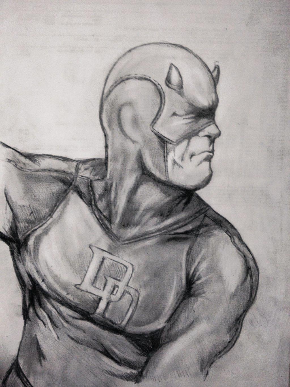 Интересные картинки простым карандашом персонажи