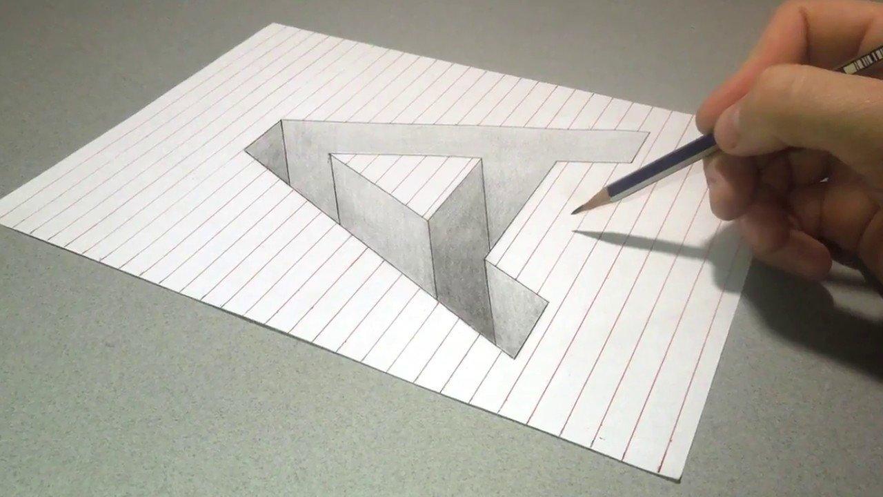 картинки как нарисовать объемные буквы его словам
