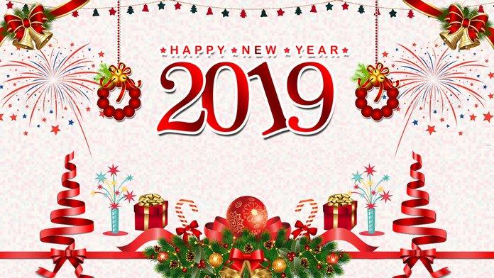 Поздравления с Новым годом 2019 для мамы в стихах картинки