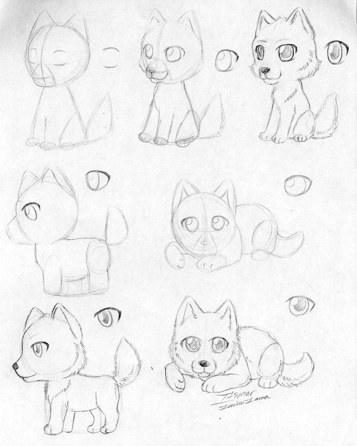 жизнь милые животные рисунки карандашом поэтапно каталоге представлены