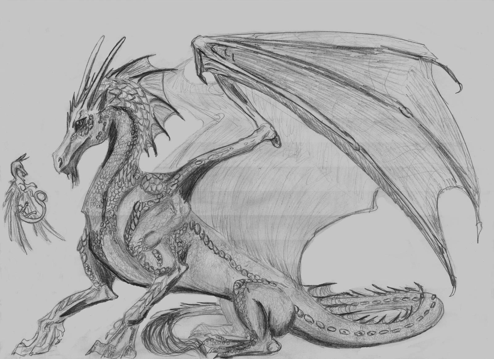 Картинки сериалу, картинки красивые драконы нарисованные