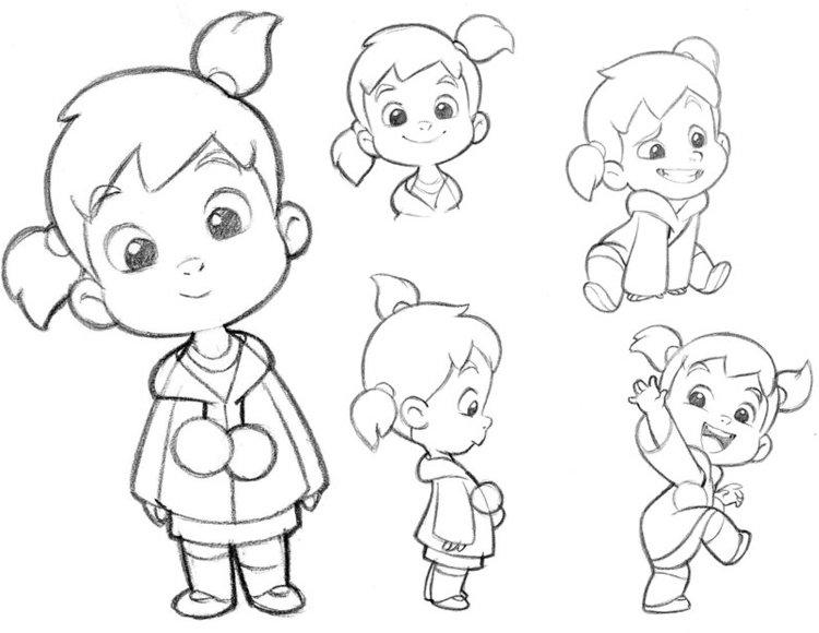 Картинки для срисовки детям 12 лет