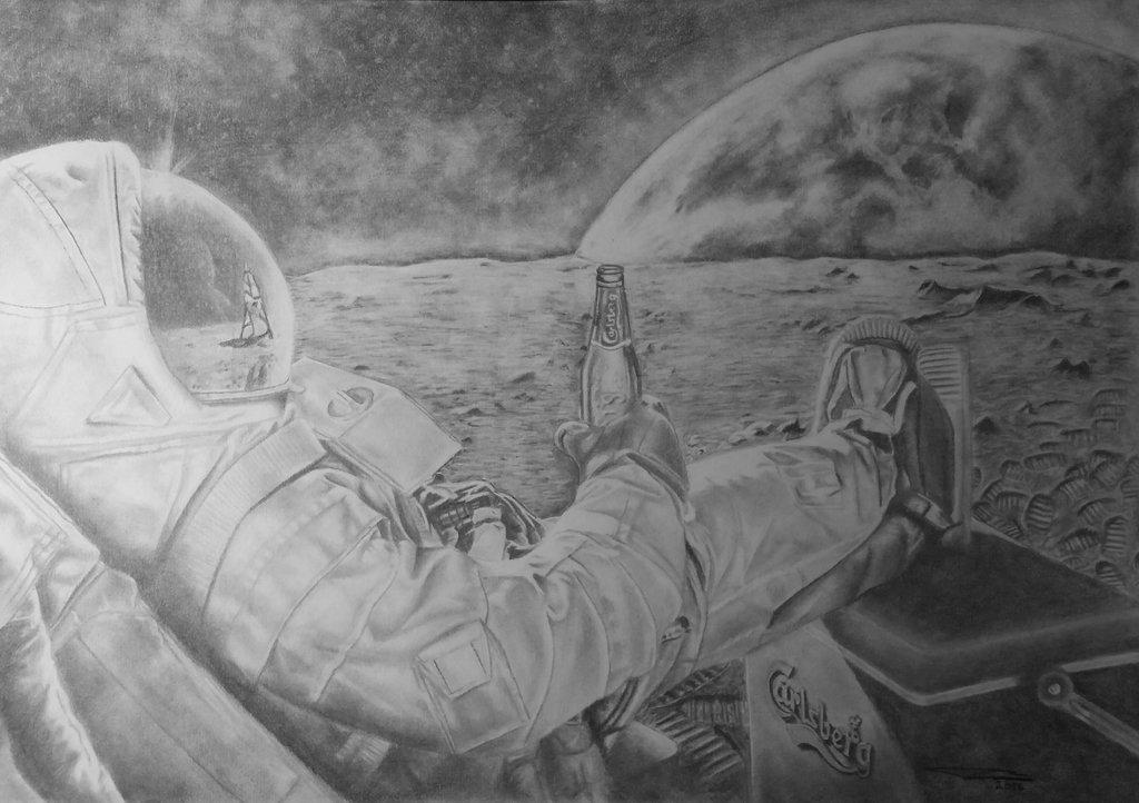 Картинки на тему космонавтики карандашом, открытки котами