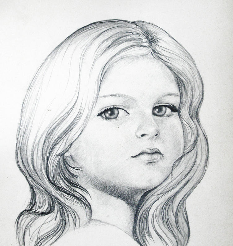 Картинки людей для срисовки карандашом легкие для детей