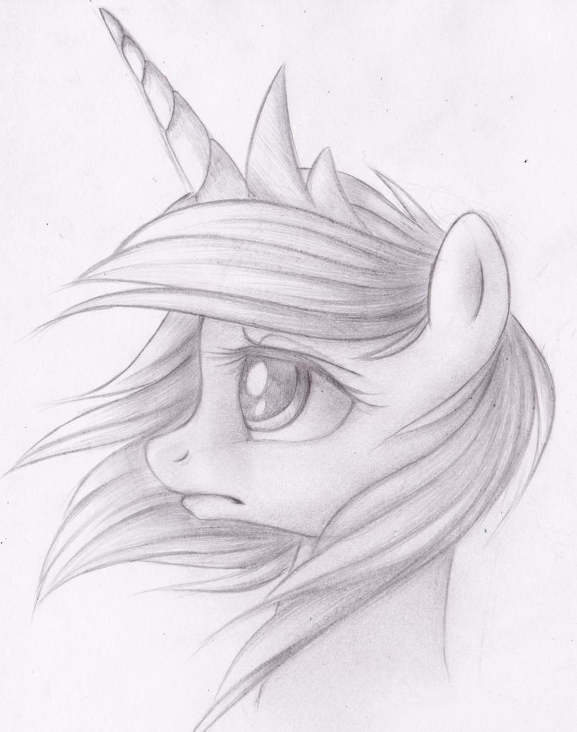 Легкие рисунки для срисовки пони для начинающих