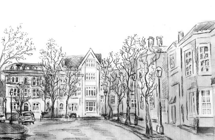 митя, улицы рисунки карандашом для начинающих социально-экономический институт