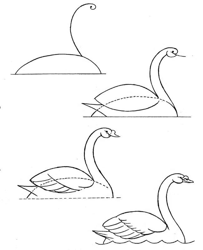 Рисунок карандашом поэтапно