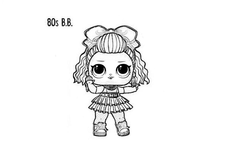 Куклы ЛОЛ 4 серия декодер: раскраска