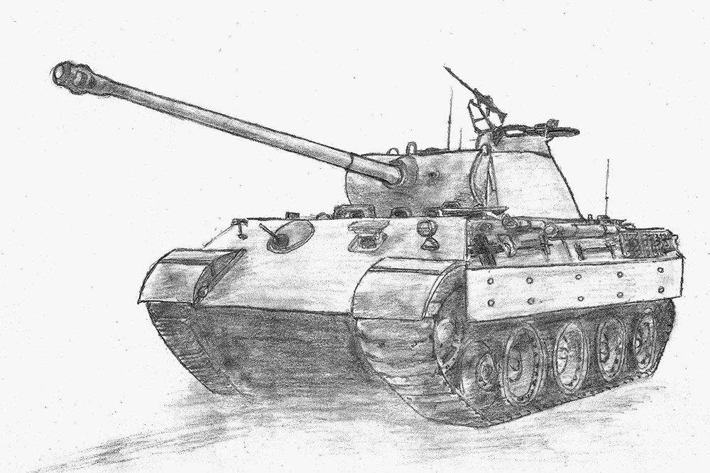 часть каркаса картинки танков для срисовывания клике подарок
