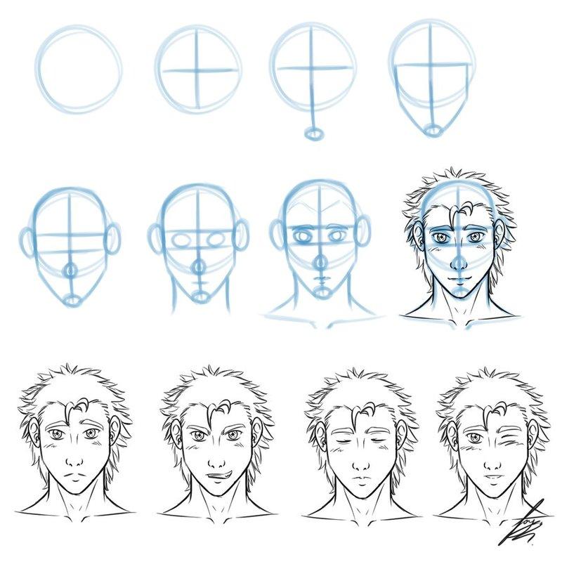 Легкие рисунки для срисовки карандашом для начинающих