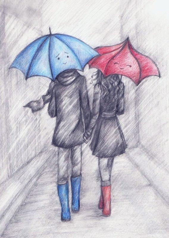 может рисунки на тему любви карандашом выяснения истины