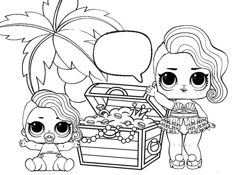 Картинки ЛОЛ куклы для срисовки