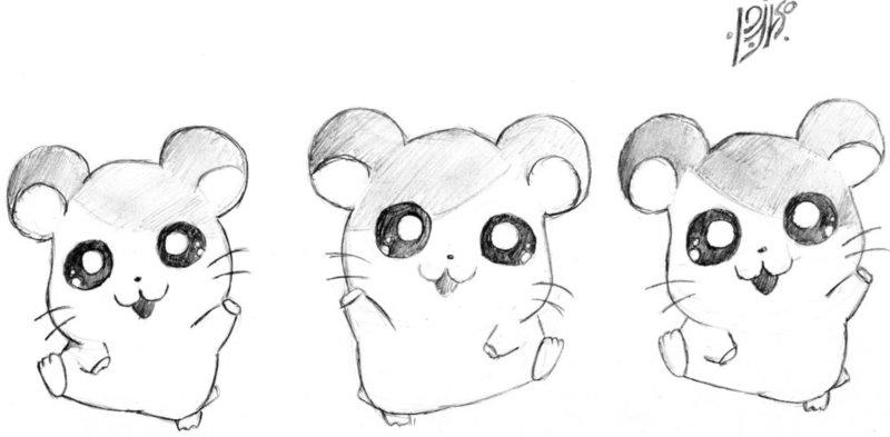 Милые рисунки карандашом