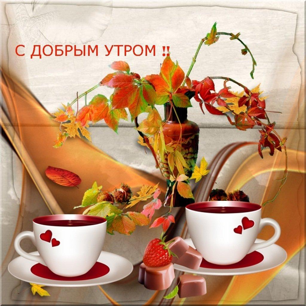 Картинки доброе утро хорошего дня друзьям