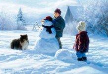 Детский стих про зиму