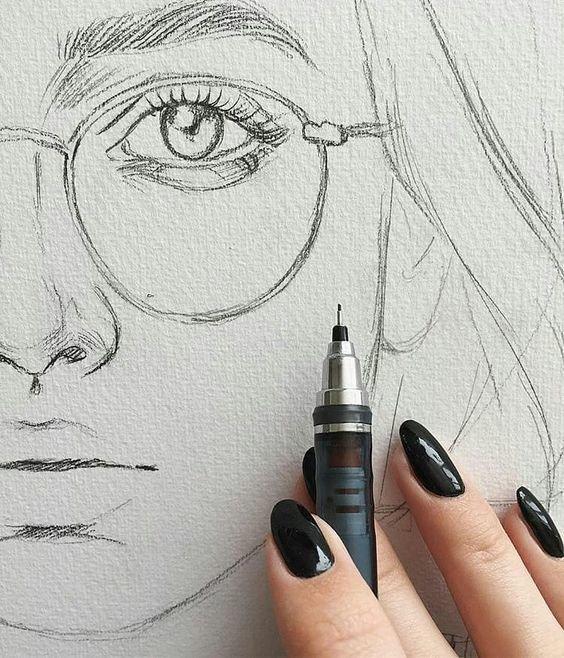 Красивые легкие картинки для срисовки карандашом