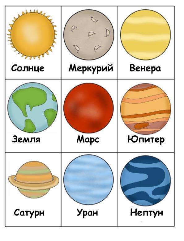 """Картинки """"космос"""" для детей"""