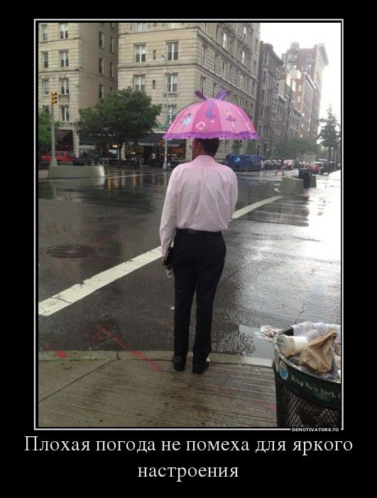 Смешные картинки про дождь с надписью