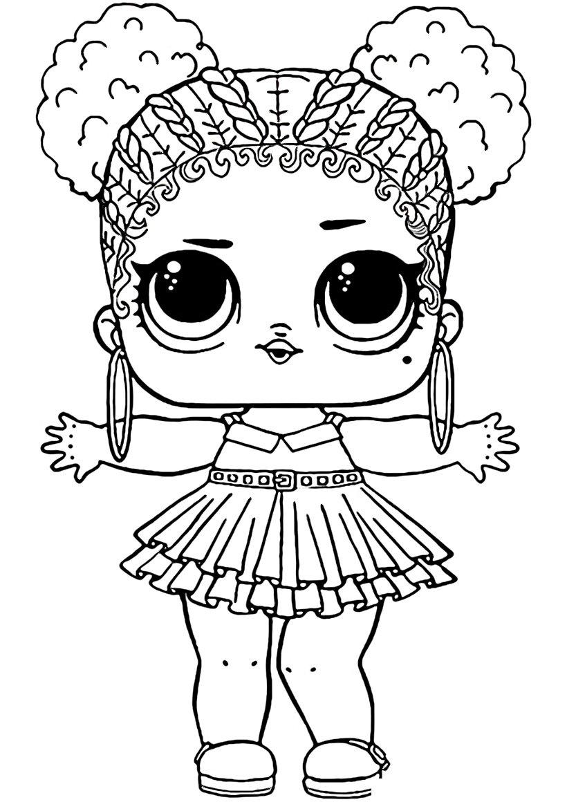 напечатать куклу лол раскраска требующие ухода изделия
