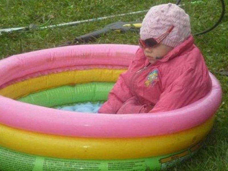 Картинки приколы про холодное лето