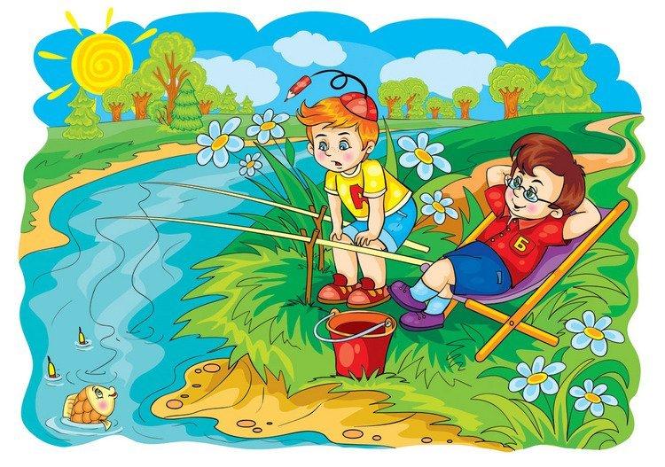 """Картинки """"лето"""" для детей детского сада"""