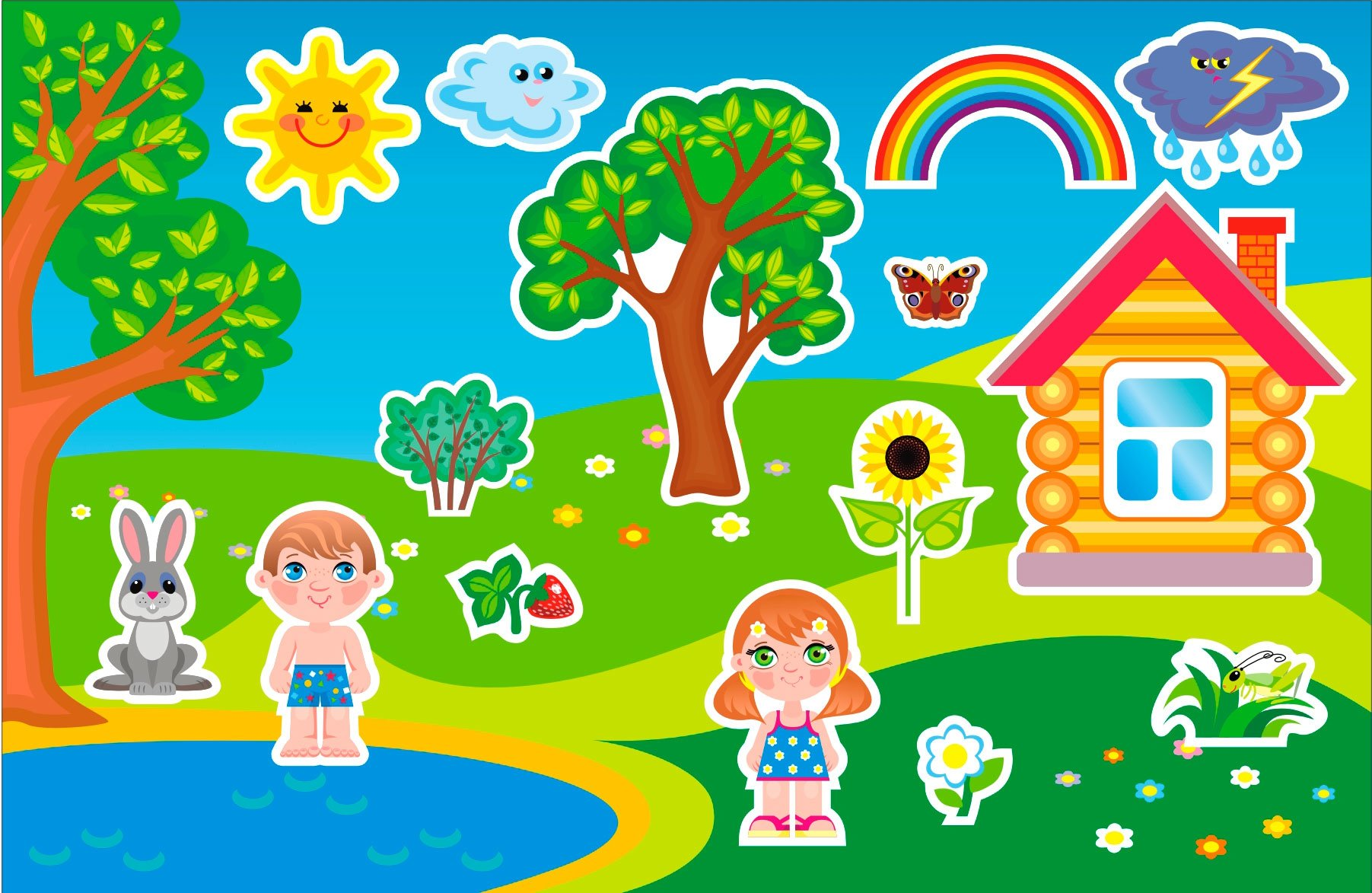 Поздравления в стихах для детей детского сада