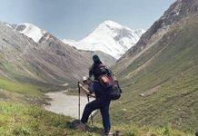 Геолог в горах