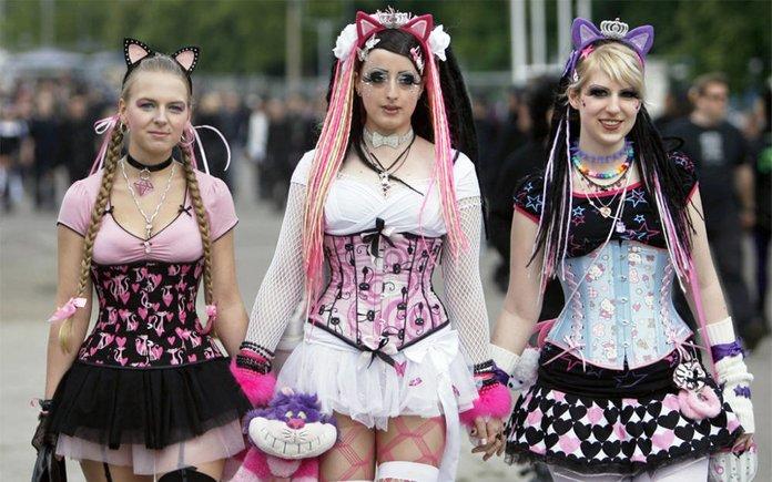 Девушки анимешницы