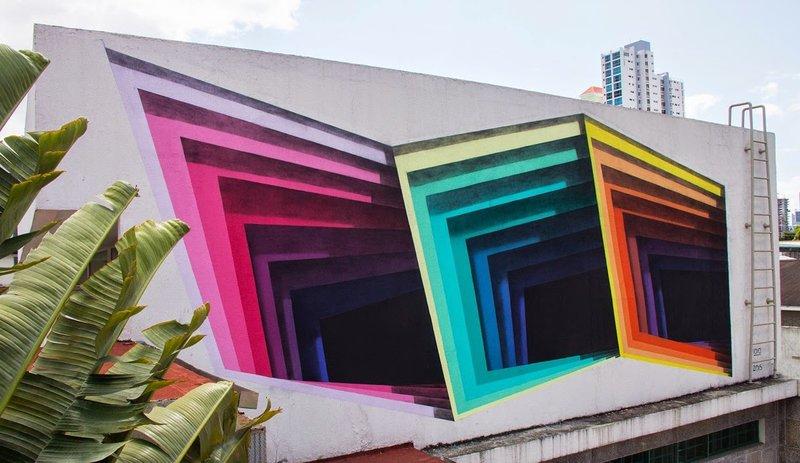 Иллюзия с углами в Панаме