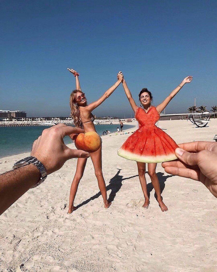 фото красивых девушек на пляже приколы
