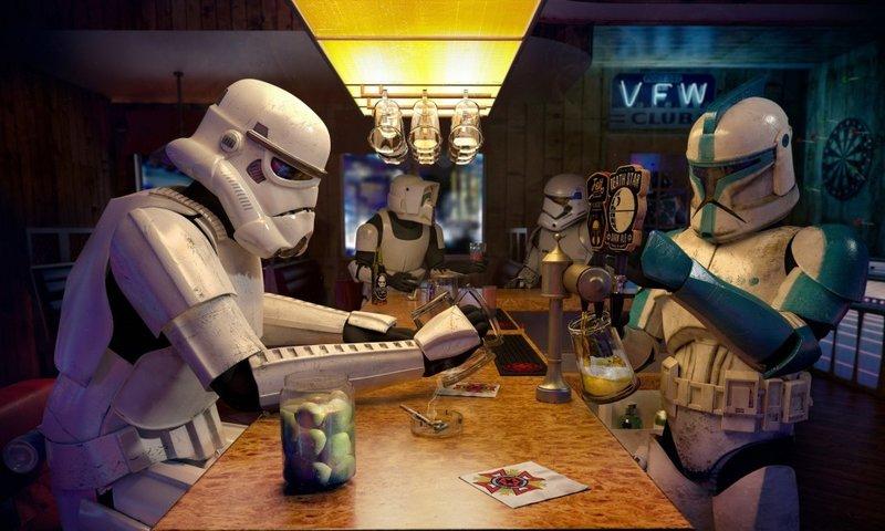 Штурмовик в баре