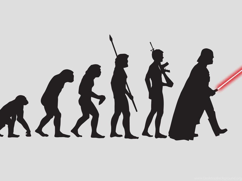 Эволюция Дарт Вейдера