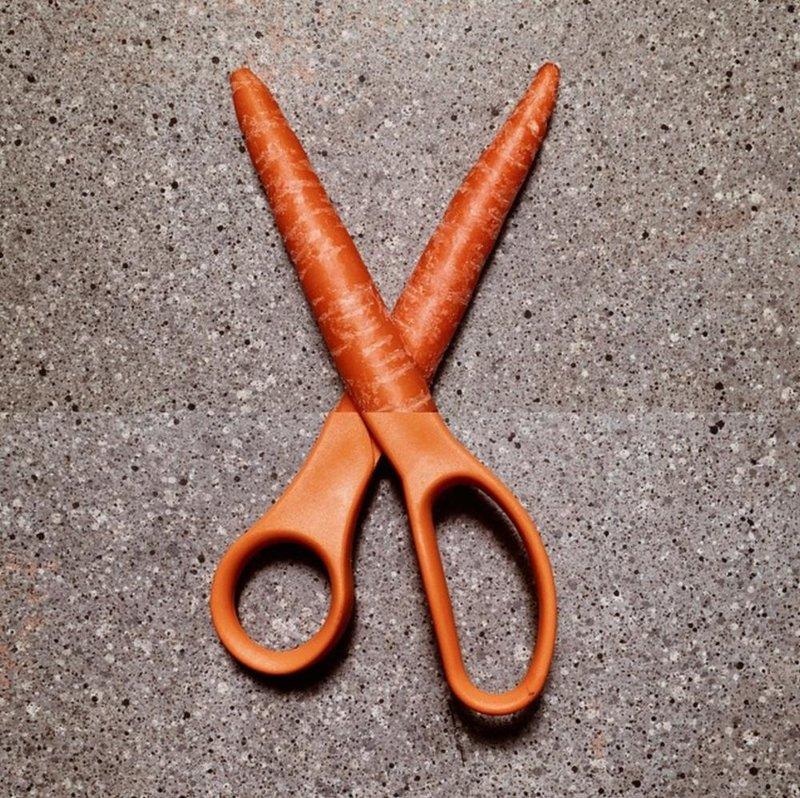 Морковка-ножницы