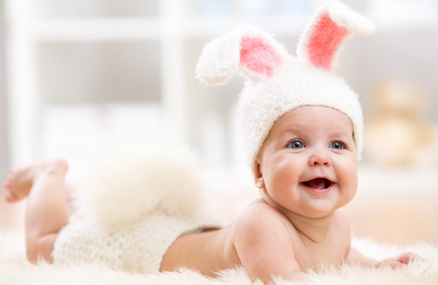 Улыбающийся младенец картинки