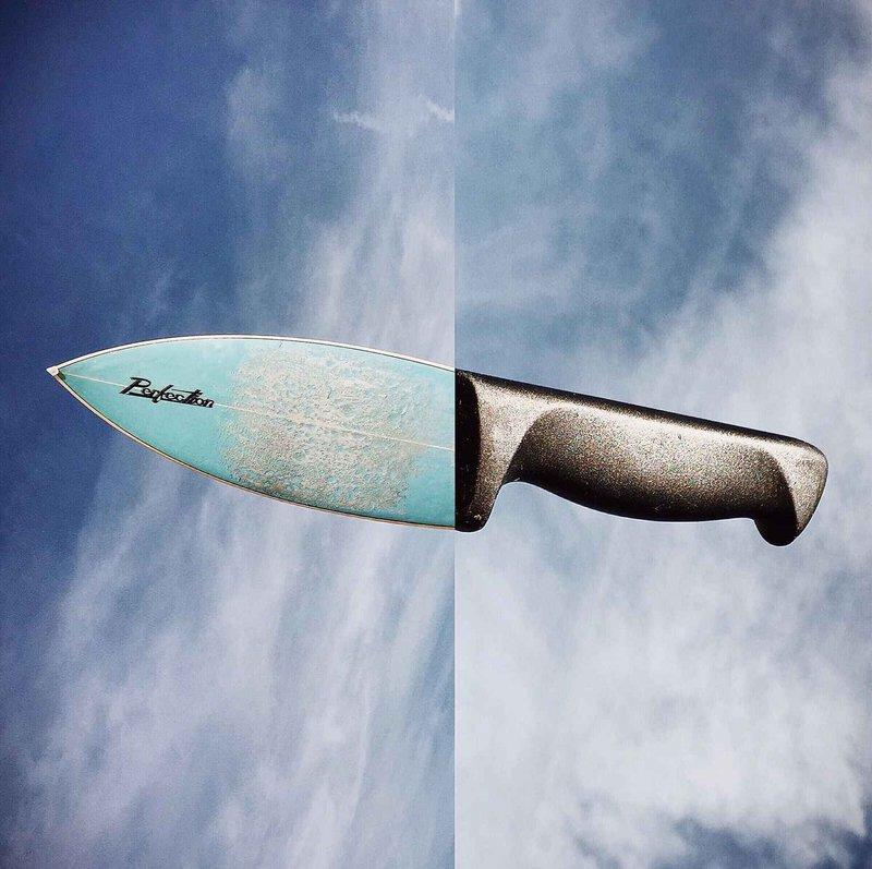 Необычный нож