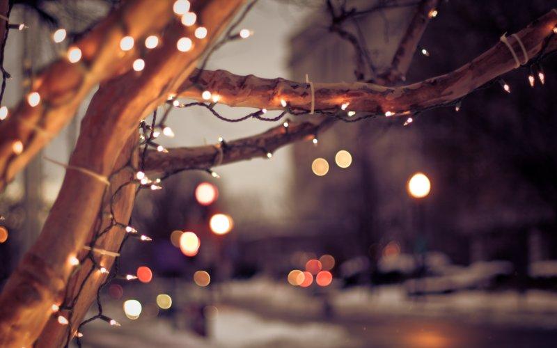 Атмосферная картинка новогодних праздников