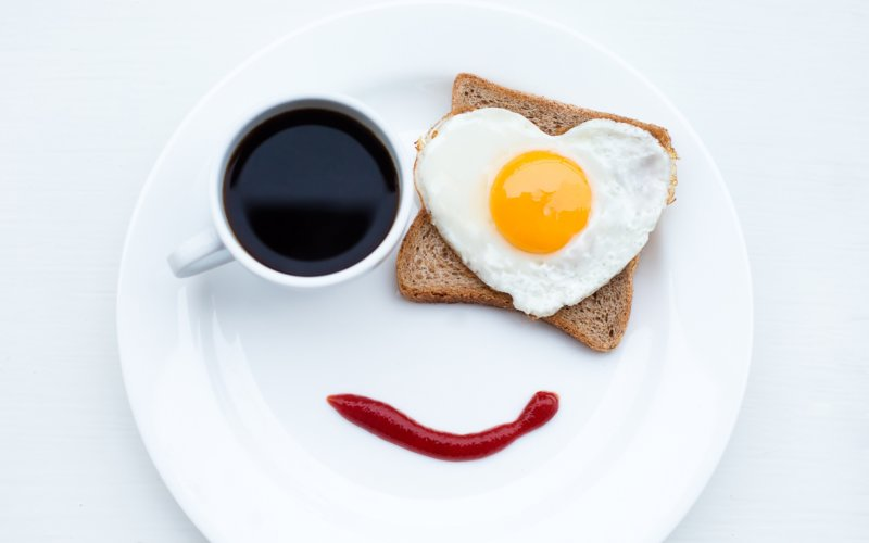 Необычный завтрак