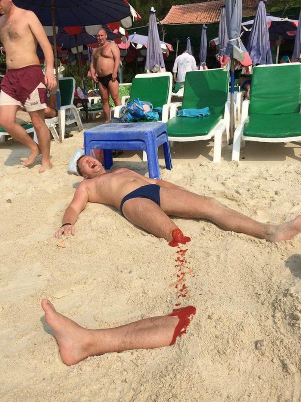 самые смешные фото с пляжа гостиницы